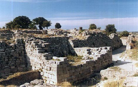Ruins of Troy and Gallipoli