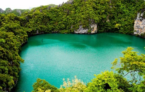 Green Lagoon (Emerald Lake) at Koh Mae