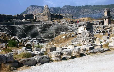 Lycian City of Xanthos Theater