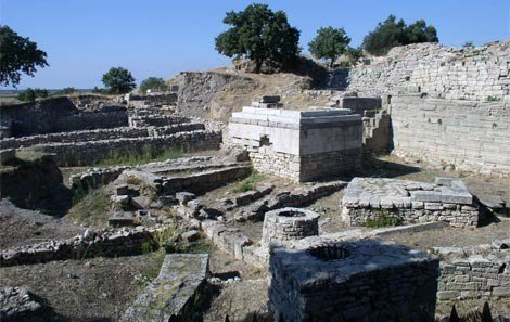 Ruins of Ancient City Troy