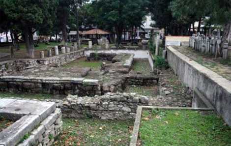 Ruins of Temple of Seraphis Sinop Archaeology Museum