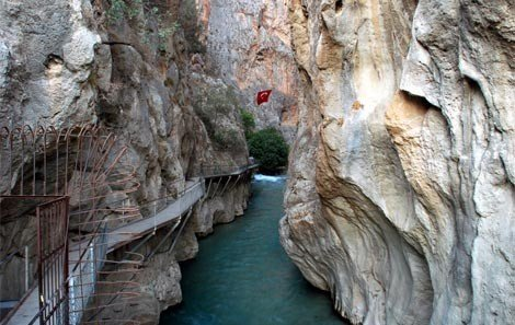 Saklikent Gorge Canyon