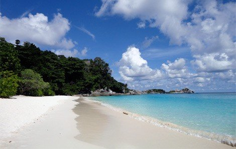 Sandy Beach at Similan