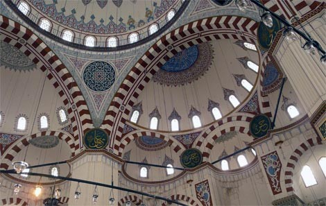 Shehzade Mosque Interior