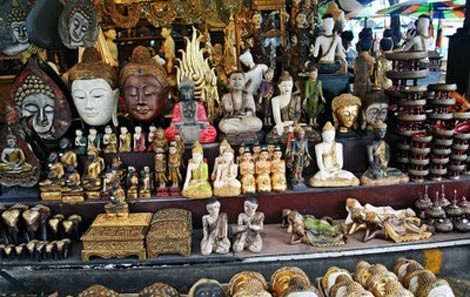 Souvenirs at Chatuchak Weekend Market