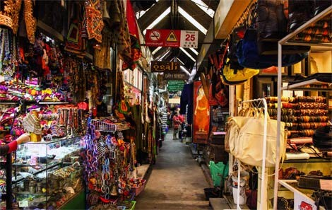 Stalls at Chatuchak Weekend Market