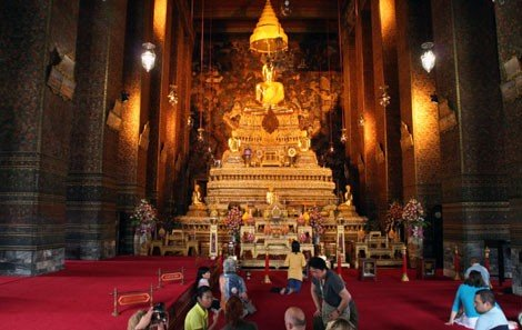 Temple of the Emerald Buddha Interior (Wat Phra Kaew)