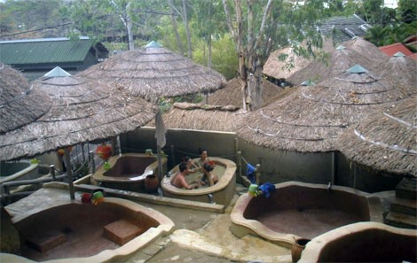 Thap Ba Hot Spring Mud Bath
