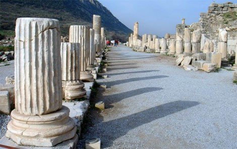 The Marble Colonnades of Curetes Street